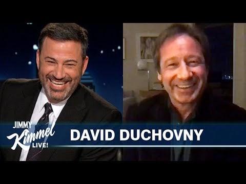 David Duchovny on Voting, Aliens & The Bachelorette [Jimmy Kimmel Live]