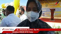 Video Peletakan Batu Pertama Pambangunan Poliklinik dan Laboratorium PCR Swab RSUD STS Tebo