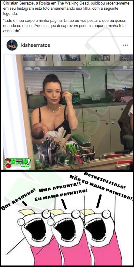 Blog Viiish - A Rosita quem ofereceu!