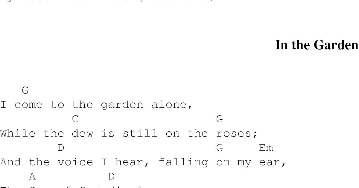 Garden Song Lyrics Dreamsofmylifes