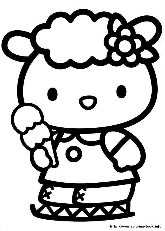 Hello Kitty Coloring Aprilmydearestco