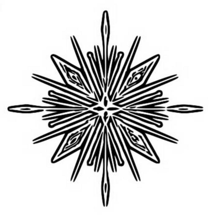 Disegno Da Colorare Frozen 2 Fiocco Di Neve 4