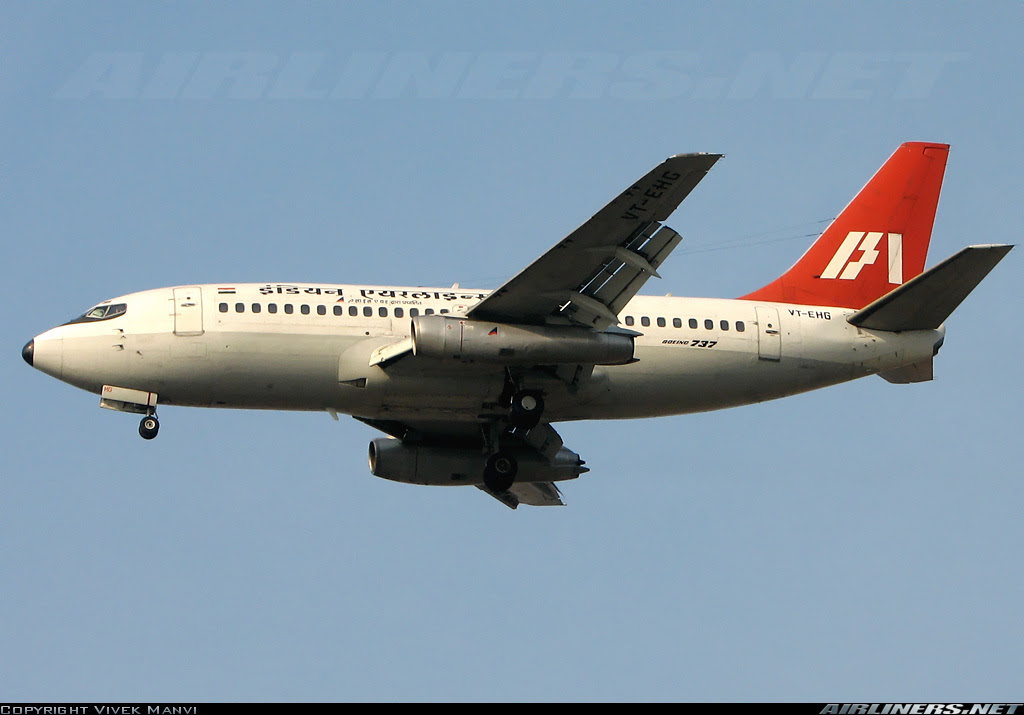 Boeing 737-2A8/Adv aircraft picture