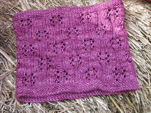 Blackberry Bramble Cowl