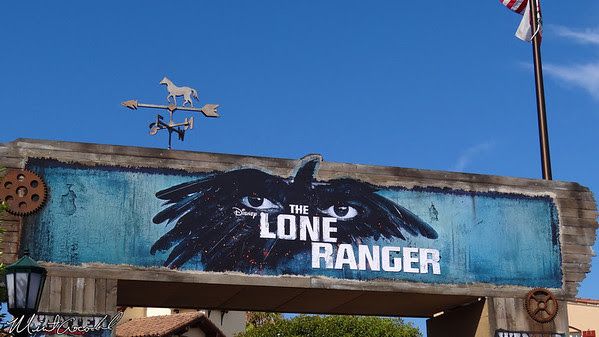 Disneyland Resort, Disney California Adventure, Buena Vista Street, Lone Ranger
