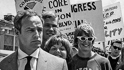 From the Archives: Marlon Brando joins 1963 protest in Torrance