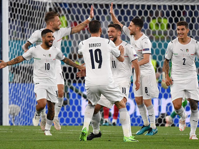 Euro 2020: Italy open campaign with 3-0 win over Turkey