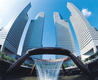 BSI's Singapore HQ at the Suntech City complex
