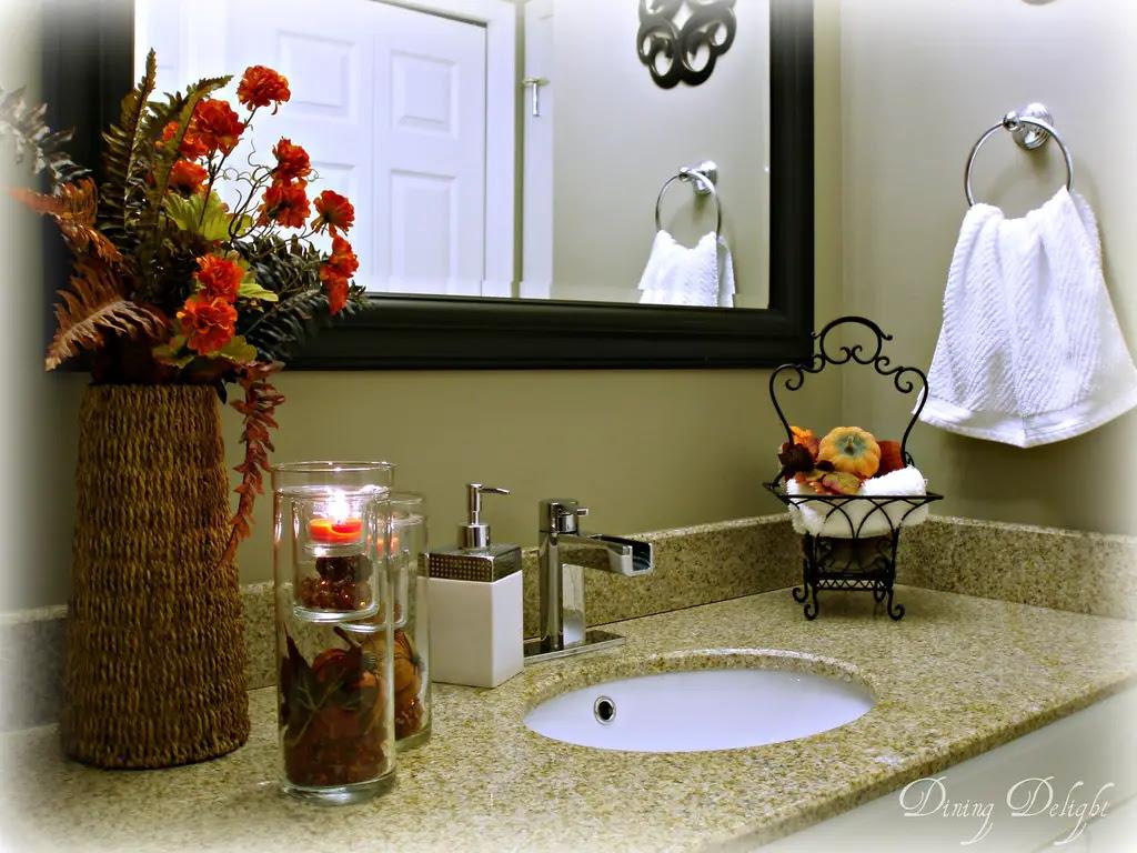Fall Bathroom Decorating Ideas & DIY Fall Bathroom Decor ...