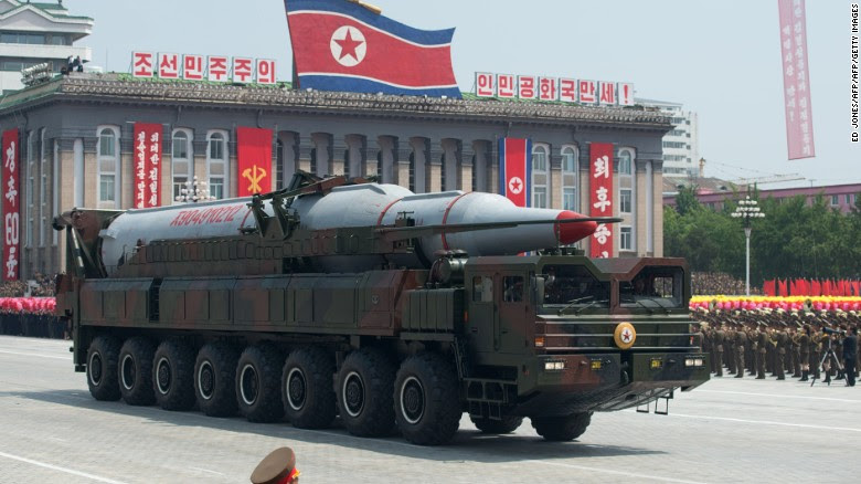 Pyongyang has at least four previous attempts to launch Musudan missile this year.