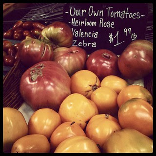 Holy #tomatoes #MannOrchards #tomato #heirloom