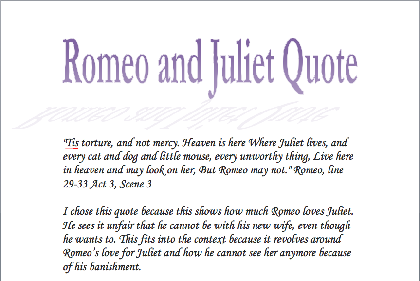 Romeo And Juliet Quotes  www.imgkid.com  The Image Kid