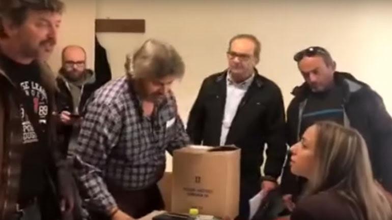 Χαμός στο εργατικό κέντρο Κοζάνης: Συνδικαλιστές ήρθαν στα χέρια on camera