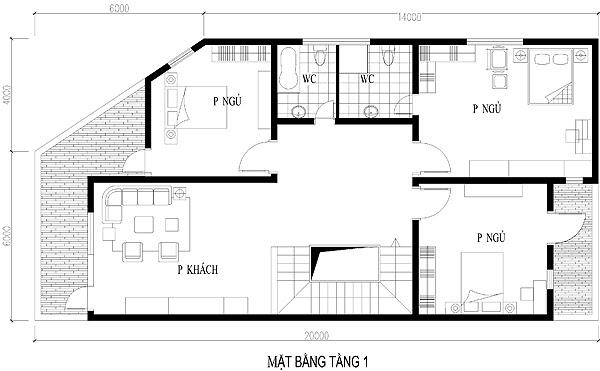 Tư vấn thiết kế nhà ở kết hợp kinh doanh trên đất 10x20m | 2