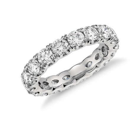 Blue Nile Studio Scalloped Prong Diamond Eternity Ring in
