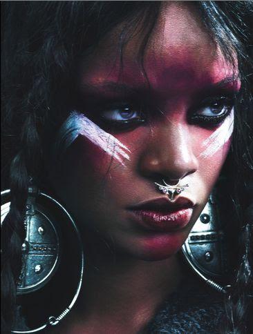 Rihanna for W Magazine - Bellanaija - August2014004