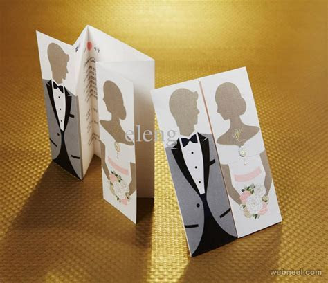 Wedding Card Designs 15   Full Image