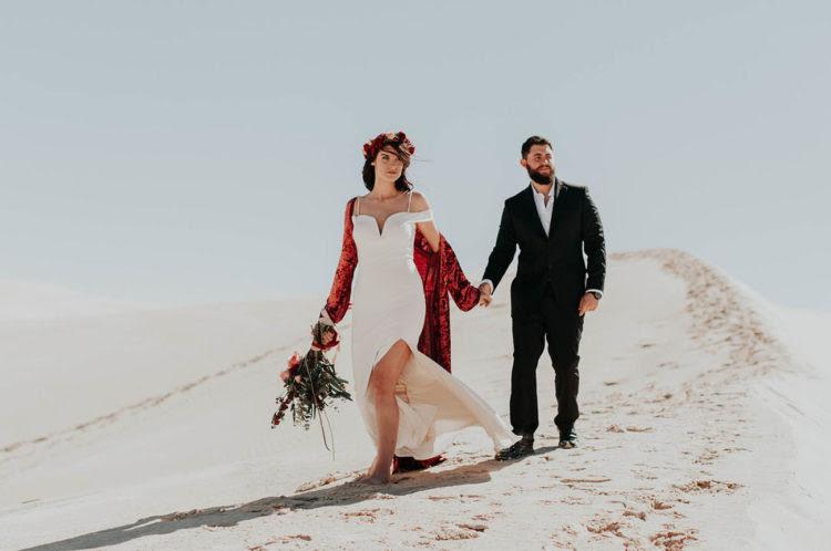 Diese boho-Wüste Flucht Schießen Sie werden eine große Quelle der inspiration für all die Paare, die möchten, zu fliehen