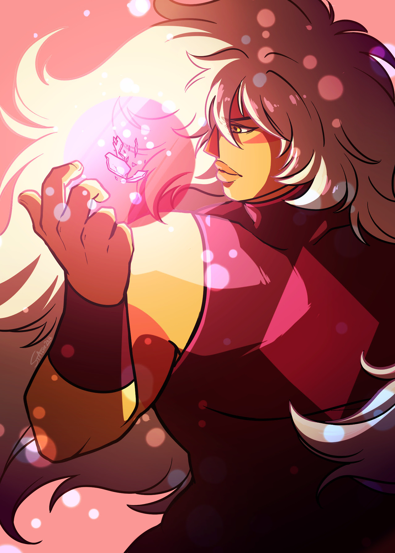 It's been more than a year since the Jasper Zine project was funded or w/e, so decided to post my piece any way, cuz it rly looks like it might not get solved any time soon.