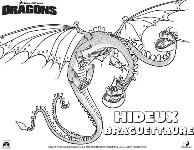 Coloriage Dragons Coloriages Coloriage à Imprimer Gratuit Fr