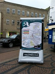 Ayrshire outdoor advertising company Posterplus  launches new format inflatable billboard 1 by Elite Ayrshire Business Circle
