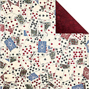 Wild Card Shuffle Playing Cards Scrapbook Paper