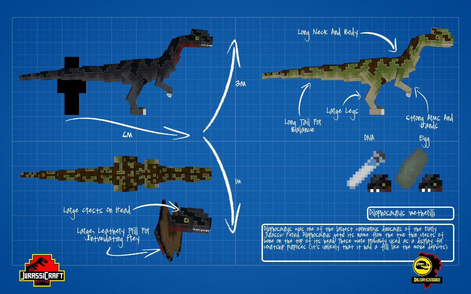 Minecraft Jurassic World Mod Curse - Bukalah t