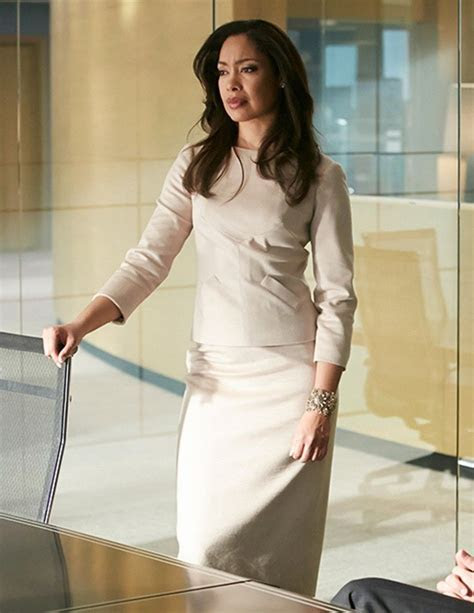 Gina Torres as Jessica Pearson in 'Suits'.   Chic