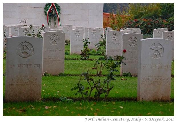 Indian cemetery of Forli, Italy - S. Deepak, 2011