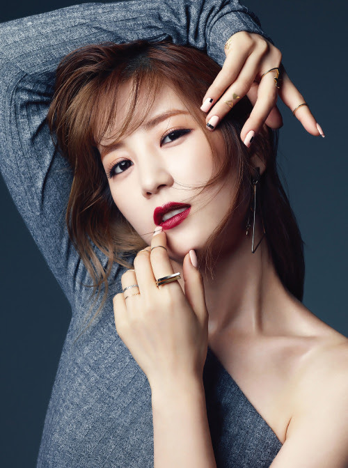 [MAGAZINE] A Pink Chorong – Sure Magazine October Issue '15 2400x3226