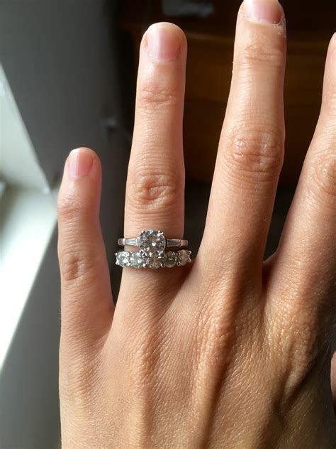 Any forever one moissanite engagement rings?!