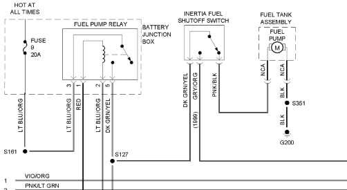 precision fuel pump wiring diagram ford ranger image 10