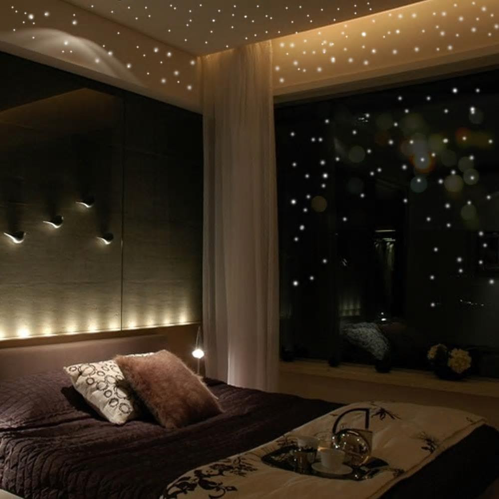 Glow In The Dark Space Wall Stickers Gallery Wallrus Free
