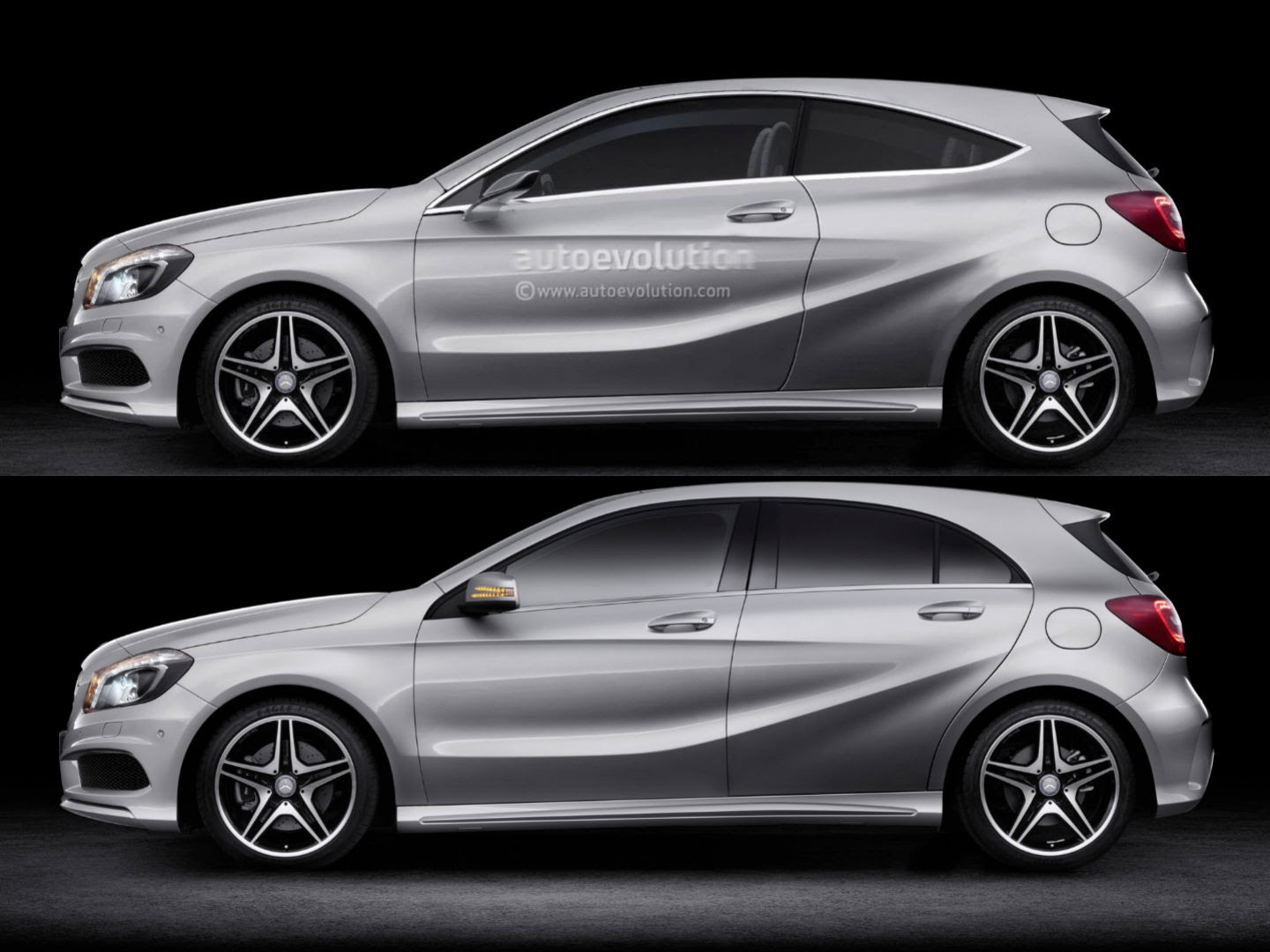 Mercedes-Benz, Please Build a Three-Door A-Class ...