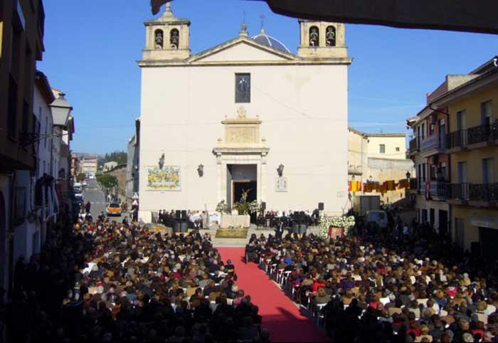 Resultado de imagen de Fiesta de la Beata Inés de Benigánim