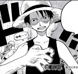 one piece luffy rencontre shanks