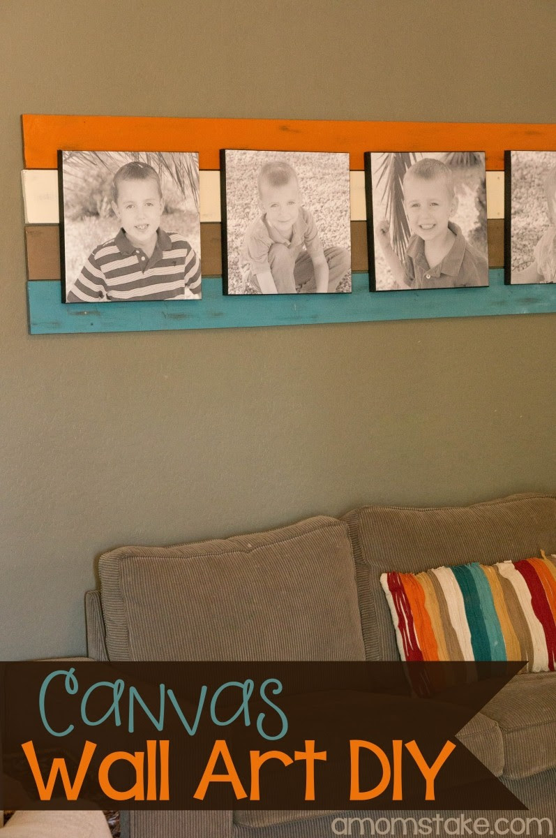Vintage, Paint and more... canvas wall art feature