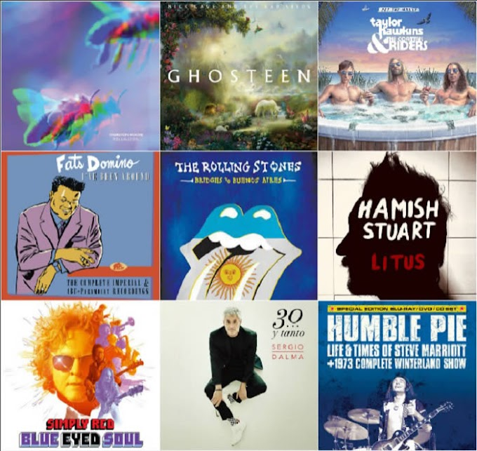 Lanzamientos discográficos: 8 de noviembre