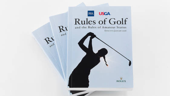 The Rules of Golf book