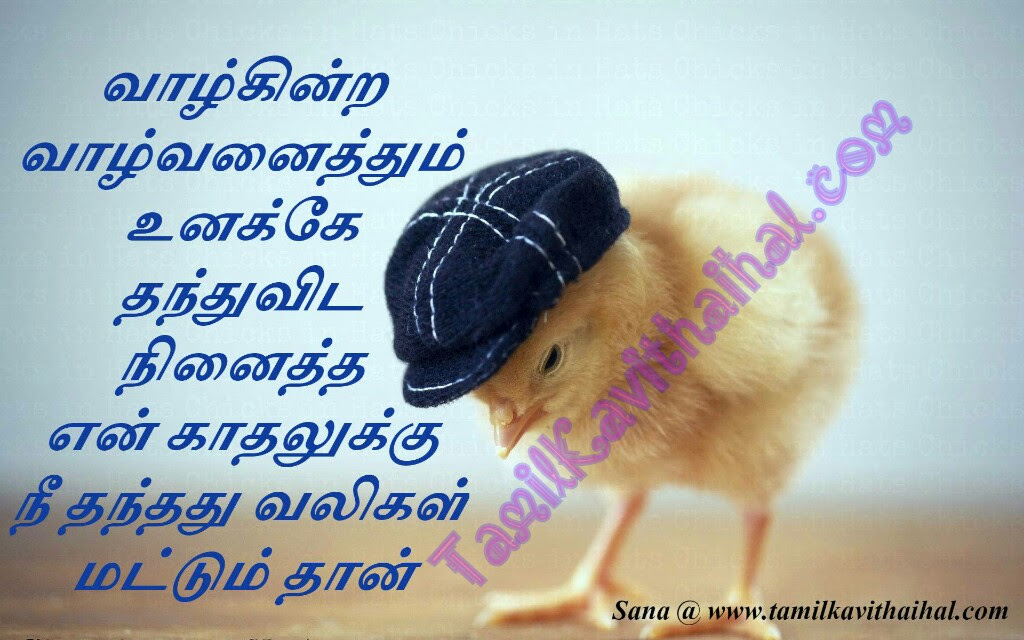 Painful Love Failure Quotes In Tamil