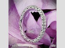 Tacori Classic Crescent Eternity Scalloped Millgrain Diamond Wedding Ring   3103
