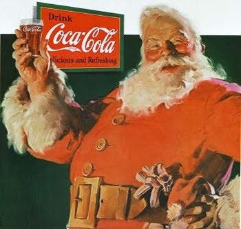 Papai Noel Coca-Cola - É gordo, vermelho e faz hohoho