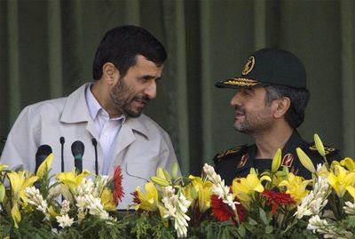 Ahmadineyad y Jafari
