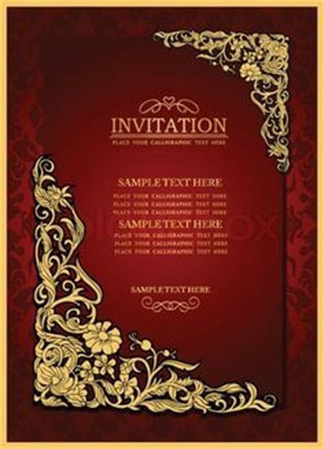 Free Blank Wedding Invitation Card Designs   Wedding