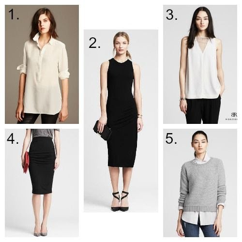 Banana Republic Minimalist Finds