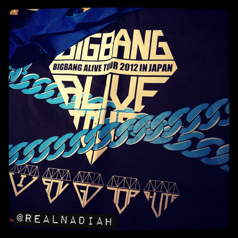 Take-Out Bag BIGBANG ALIVE TOUR JAPAN