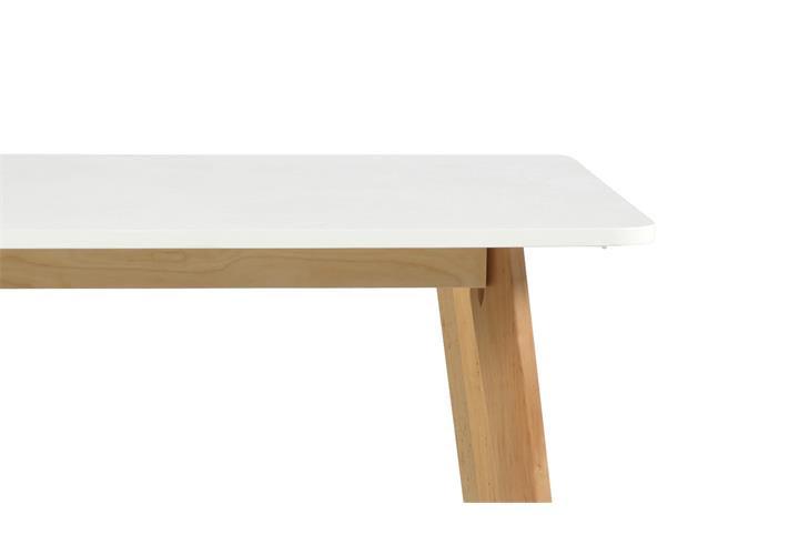 tisch raven 120x80cm gestell birke platte weiß
