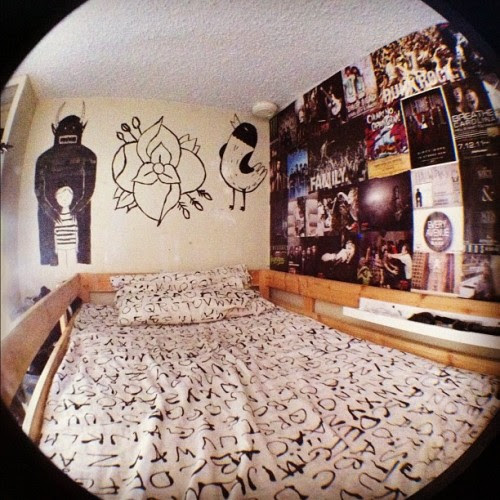 Gallery For gt; Punk Bedroom Tumblr