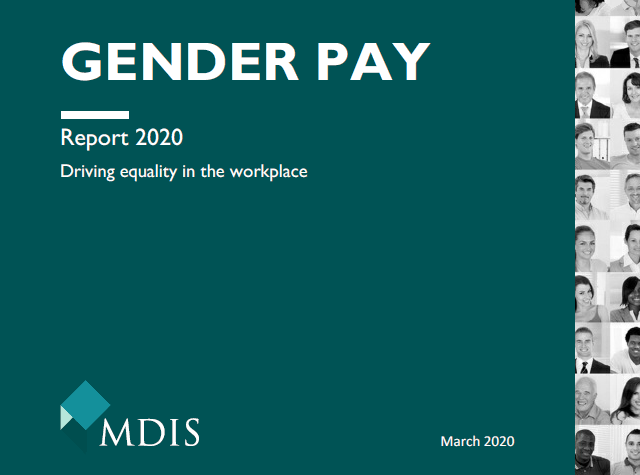 Gender Pay Gap Report 2020 image   MD Insurance Services ...
