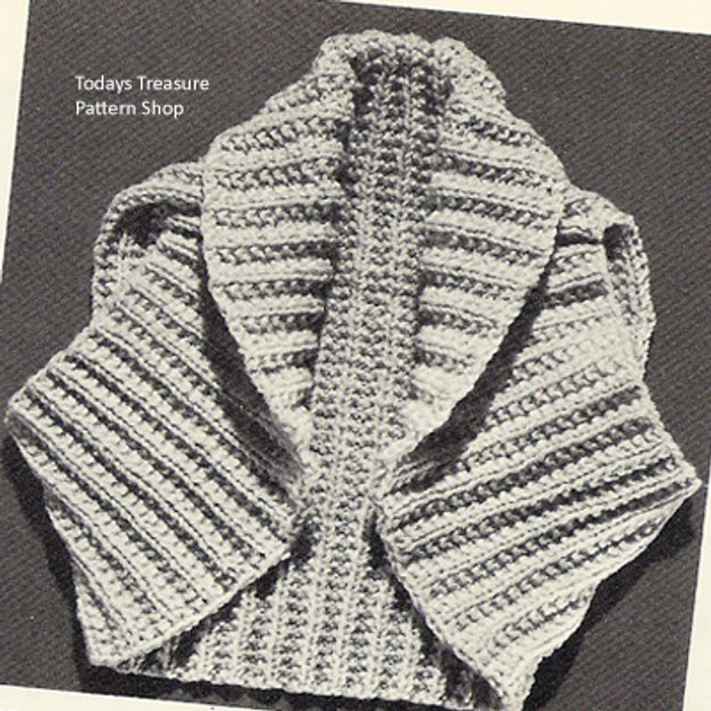 Small Knitted Shrug Pattern